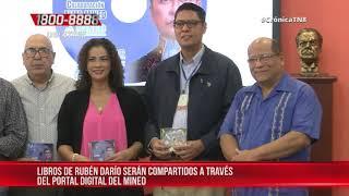 Alcaldía de Managua entrega 9 libros en digital al Ministerio de Educación – Nicaragua
