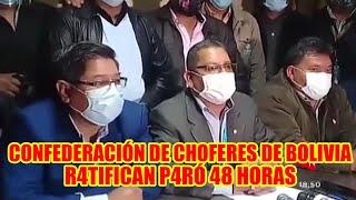 CHOFERES EL DÍA DE MAÑANA TENDRÁN AMPLIADO PARA D3FINIR CUANDO SE RE4LIZARÁ EL P4RÓ NACIONAL..