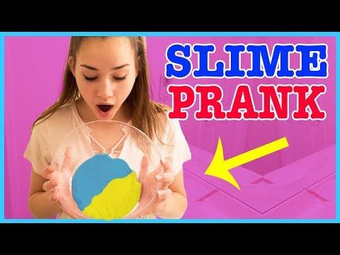 Slime Prank! COLOR CHANGING SLIME!!