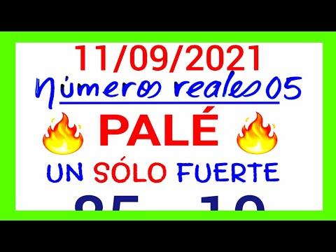 NÚMEROS PARA 11/09/21 DE SEPTIEMBRE PARA TODAS LAS LOTERÍAS...!! Números reales 05 para hoy....!!