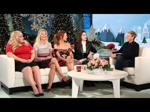 connectYoutube - 'Pitch Perfect 3' Cast Talk Sequels with Ellen