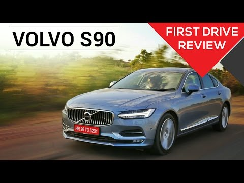 Volvo S90 | First Drive Review | Zigwheels