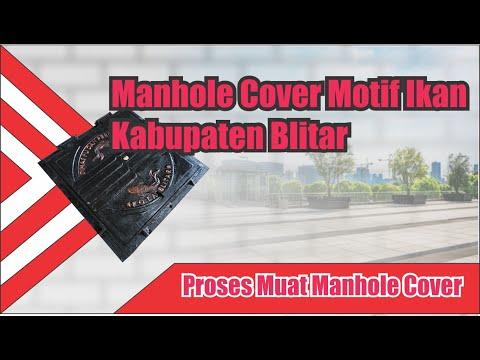Proses Pembuatan Manhole Cover Unik