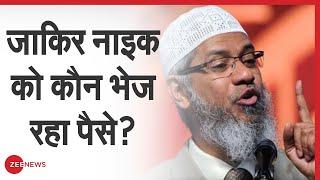 जाकिर नाइक को कौन भेज रहा पैसे?| Zakir Naik | Turkey | Qatar | Pakistan | Explained | Funding Source - ZEENEWS