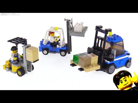connectYoutube - Custom LEGO Forklifts x3!