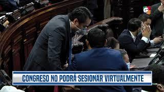 Diputados seguirán con sesiones presenciales en emergencia por covid-19