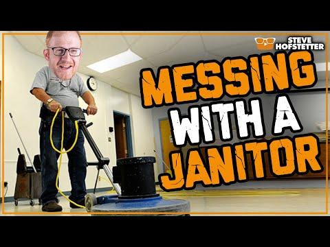 connectYoutube - Janitor vs. Comedian - Steve Hofstetter