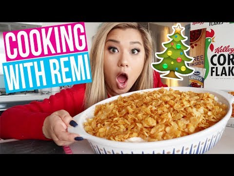 HOLIDAY COOKING WITH REMI!! Vlogmas Day 24!