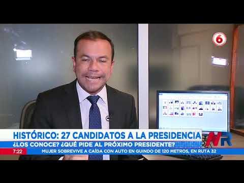 Histórico: 27 candidatos postulan a la presidencia