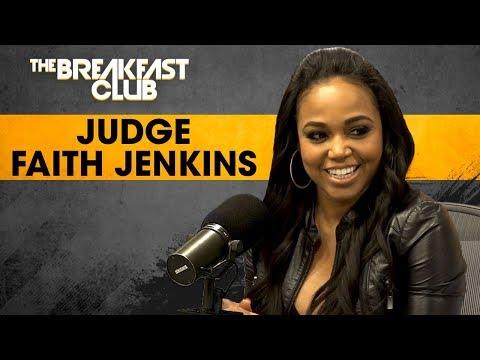 Judge Faith Jenkins On Syndicated Court TV, Fair Representation For Heinous Crimes  + More