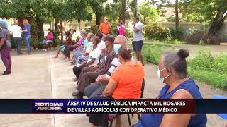 Área IV de Salud Pública impacta mil hogares de Villas Agrícolas con operativo médico