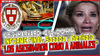 UNIV. DE HARVART Y ORG. D.D.H.H. INFORME FINAL. SACABA Y SENKATA. BOLIVIA.