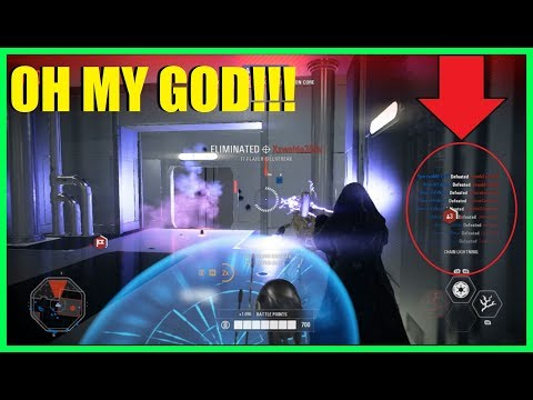 Star Wars Battlefront 2 - Got an AMAZING killfeed! | Droid win on Kamino!