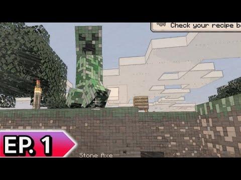 Minecraft-Ep.1-ตำนานการเจอ-Cre