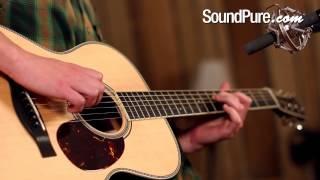 Santa Cruz OM Acoustic Guitar Demo at Sound Pure Studios