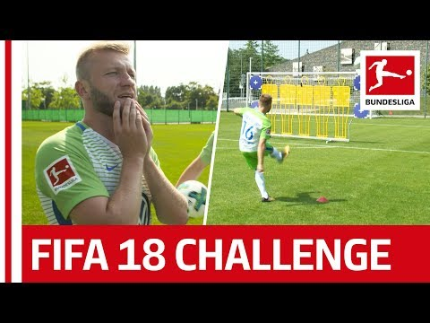 Blaszczykowski: Polish Power for Wolfsburg - EA Sports FIFA 18 Bundesliga Free Kick Challenge