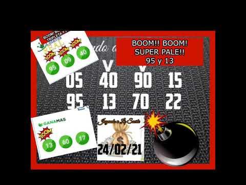 BOOM!! BOOM!! SUPER PALE 95 y 13 EN LOTERIA REAL Y GANA MAS!!