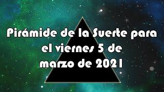 Lotería de Panamá - Pirámide para el viernes 5 de marzo de 2021