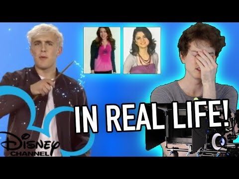 If Disney Channel Commercials were Real Life and I was there! (Jake Paul, Selena Gomez, Miley Cyrus)