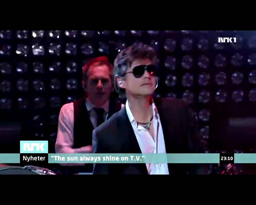 NRK1 News - Tonight was the end, A-ha is now history! (HD)