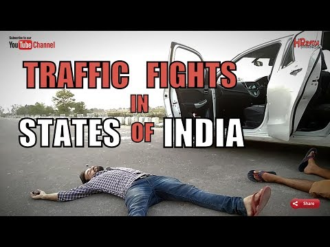 connectYoutube - Fights in Different States of India | Funny || HRzero8 |