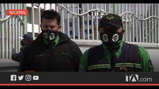 Guardias de seguridad del Hospital de Calderón denuncian falta de pago