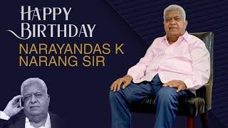 Asian Movies Narayan Das Narang Birthday Special Video | Producer Prasanna Kumar | TFPC - TFPC