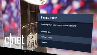 Setting up your TV for the big game