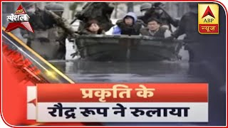Heavy rains bring floods in Gujarat's Dwarka, watch visuals | ABP Special - ABPNEWSTV