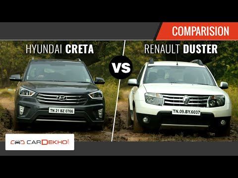 Duster vs Creta - The Perfect SUV Face-off | CarDekho.com