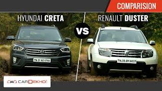 Duster vs Creta - The Perfect SUV Face-off | CarDekho.com