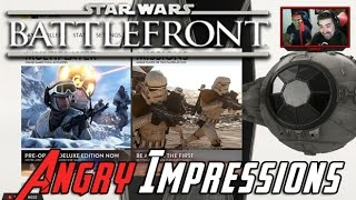 Star Wars Battlefront BETA - Angry Impressions