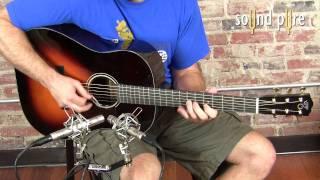 Santa Cruz RS sn 5394 Guitar Demo at SoundPure Studios