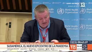 Sudamérica: El nuevo epicentro de la pandemia del coronavirus