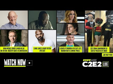 Cosplay Championships, Legends of Tomorrow, Khary Payton | C2E2 Panel Rm 1 (Day 3) | SYFY WIRE