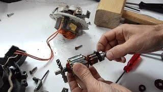 Oiling noisy shop-vac bearings