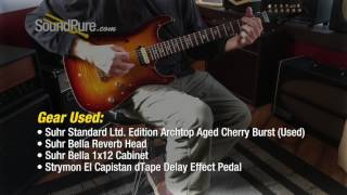 Suhr Standard Ltd. Edition Archtop Aged Cherry Burst (Used) Quick n' Dirty
