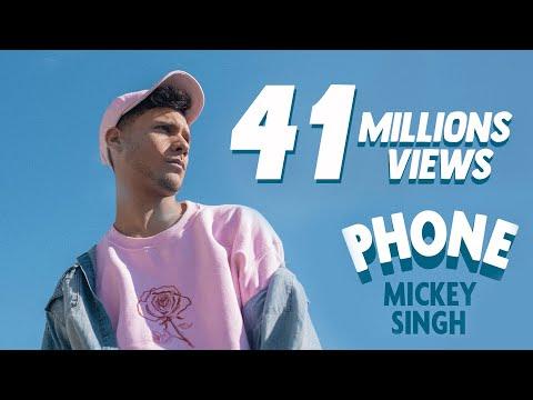 PHONE LYRICS - Mickey Singh's Punjabi/English Fusion Song