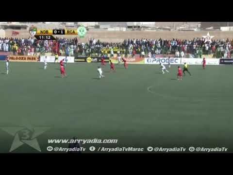 كأس الكونفدرالية| إف سي نواذيبو 1-1 الرجاء البيضاوي هدف عبد الله غي