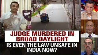 Judge Murdered In Broad Daylight: Even Law Unsafe In India? - NDTV
