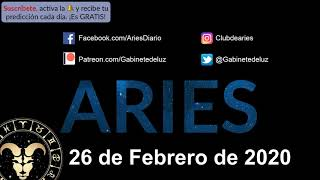 Horóscopo Diario - Aries - 26 de Febrero de 2020