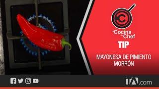 Tip La Cocina del Chef: Mayonesa de pimentón