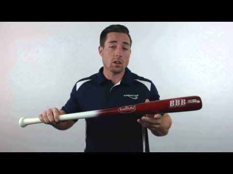 BamBooBat Bamboo Wood Baseball Bat: HWBR100M