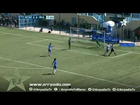سريع وادي زم 1-0 الرجاء البيضاوي هدف هشام العروي