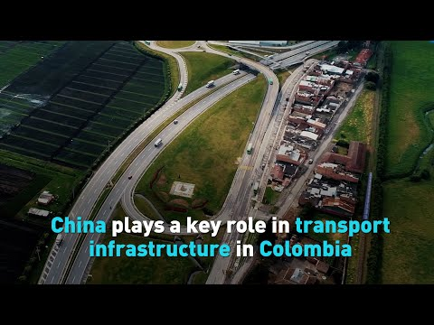 China plays a key role in transport infrastructure in Colombia