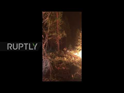 USA: Dixie Fire becomes largest wildfire of 2021 in California