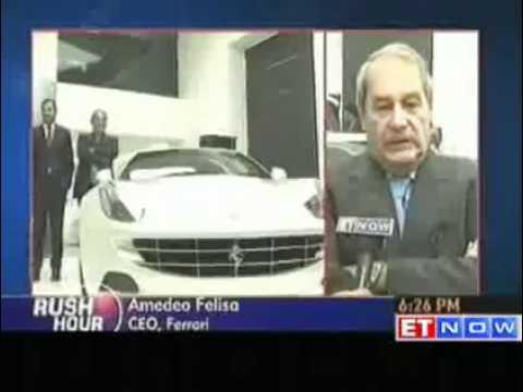 Ferrari FF launch report by ETNOW