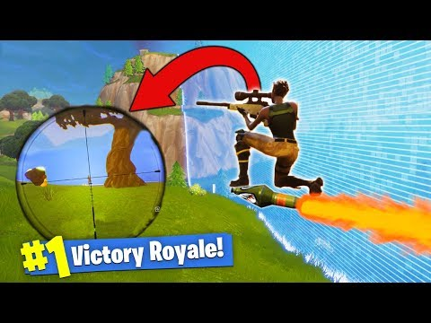 Sniping While RIDING A Rocket! [Fortnite]