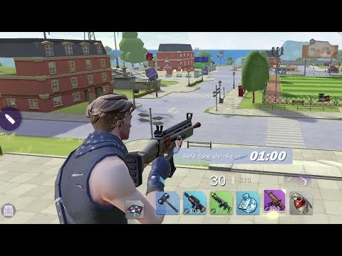 FortCraft Android GamePlay [Max Settings] Fortnite Mobile Clone