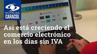 Así está creciendo el comercio electrónico en los días sin IVA